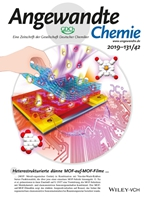 ANGEWANDTE CHEMIE-INTERNATIONAL EDITION 期刊封面